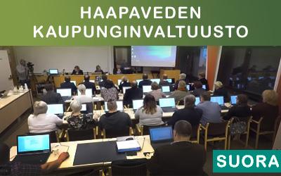 Haapaveden kaupunginvaltuusto 18.11.2019