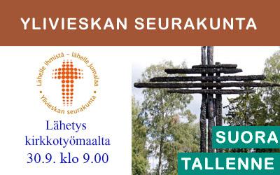 Kirkon rakentaminen -rukoushetki 30.9.2019