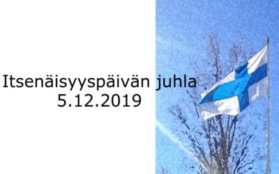 Itsenäisyyspäivän juhla 5.12.2019 klo 12 Haapavedellä
