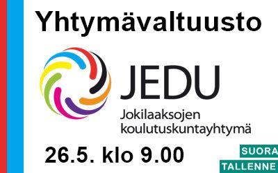 JEDU Yhtymäkokous 26.5.2020