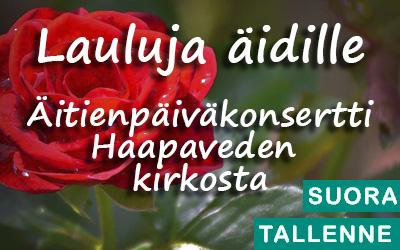 Lauluja äidille – suomalaisia yksinlauluja 2020