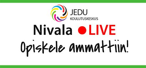 Koulutuskeskus JEDU Nivala Live! -opiskele ammattiin 25.11.2020 klo 12.15