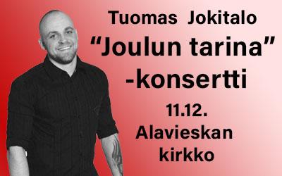 """""""Joulun tarina"""" Tuomas Jokitalo 11.12."""